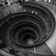 Round stairs in Vatican museum. — Stock Photo