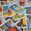 Foto Stock: Tarot Cards