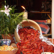 Crayfish party — Stock Photo