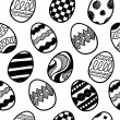 Royalty-Free Stock Vector Image: Seamless easter egg vector background