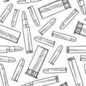 Seamless bullet vector background — Stock Vector