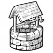 Royalty-Free Stock  : Retro farm well sketch