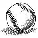 Постер, плакат: Baseball sketch