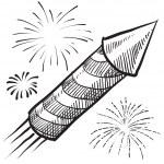 ������, ������: Fireworks sketch