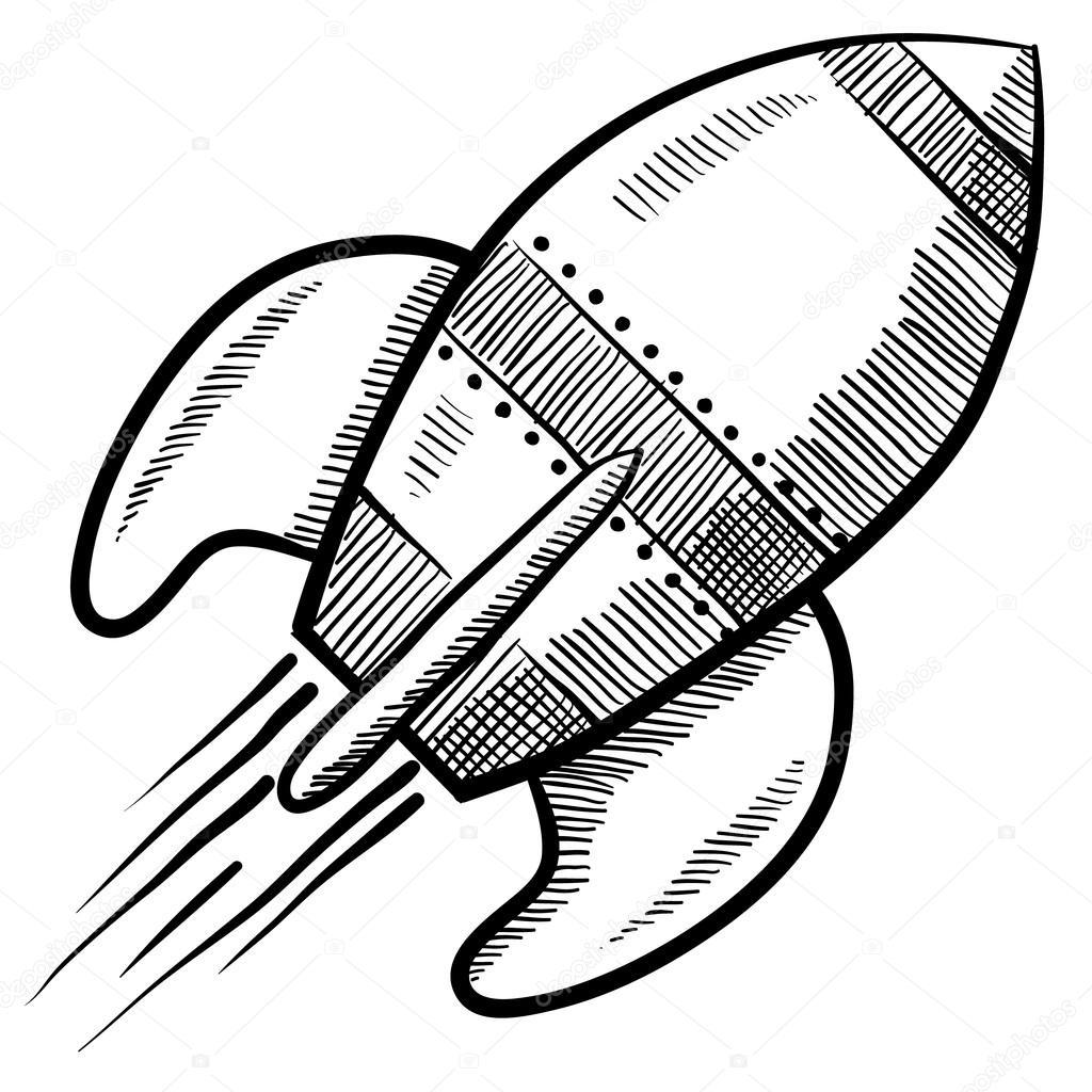 клипарт ракета: