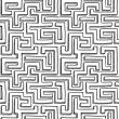 Royalty-Free Stock Vector Image: Seamless maze pattern background