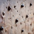 Royalty-Free Stock Photo: Old rusty metal with rivets