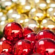 Christmas balls background — Stock Photo #14109280