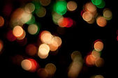 Flickering Lights. Christmas background. — Stock Photo