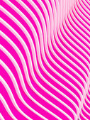Abstract pink waves background. 3d image. — Stock Photo