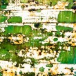 Grunge old paint on rusty metal surface — Stock Photo