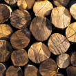 Stack of chopped fire wood — Stock Photo #14327891