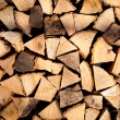 Stack of chopped fire wood — Stock Photo #14327901