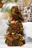 árbol de navidad fondo — Foto de Stock