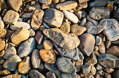 Gravel stone texture background — Stock Photo