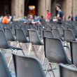 Row of empty seats — Lizenzfreies Foto