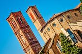 Kostel san francesco bologna, itálie — Stock fotografie