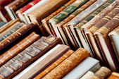 Eski kitapların arka plan — Stok fotoğraf