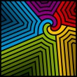 Abstract colorful swirl. Vector. — Vettoriali Stock