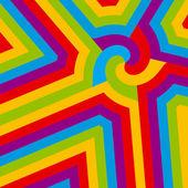 Abstrakt färgglada virvel. vektor. — Stockvektor