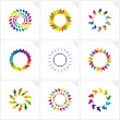 Abstract design elements. Vector. — Stock Vector #14749735