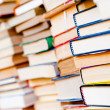 Stacked books background — Stock Photo #15389295