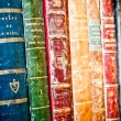 Old books background — Foto de Stock