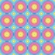 Seamless colorful pattern. Vector. — Stock Vector