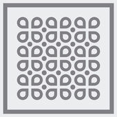 Abstract seimple seamless pattern. Vector. — Stock Vector