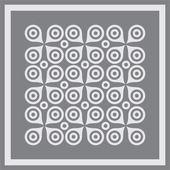 抽象几何图案背景. — 图库矢量图片
