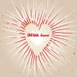 Royalty-Free Stock : Vintage grungy heart background. Vector.