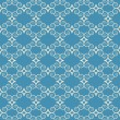 Vintage seamless monochrome geometrical pattern — Stock Vector