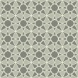 Vintage seamless mosaic pattern - Stock Vector
