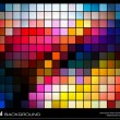 Colorful mosaic background — Imagen vectorial