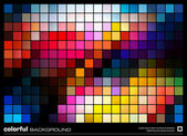 Colorful mosaic background — Stock Vector