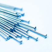 Pushpins background — Stock Photo