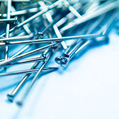 Pushpins background — Stock Photo