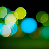 Defocused lights background — Stock Photo