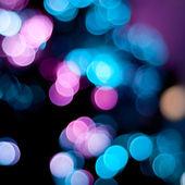 模糊的圣诞灯. — 图库照片