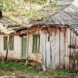 图库照片: Abandoned old house