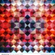 Abstract colorful triangles background. Vector. — Stock Vector #22364167