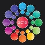 Calendar 2013 vector — Stock Vector #22364419