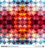 Soyut renkli üçgenler arka plan. vektör. — Stok Vektör
