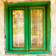 Old house window — Stock Photo #22576765