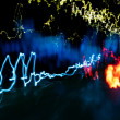 Car light trails — Stock Photo #22578257