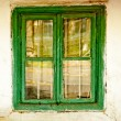 Old house window — Stock Photo