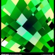 Abstract emerald green background — 图库矢量图片