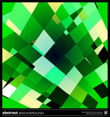 Abstract emerald green background — Vector de stock