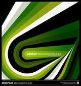 Vector fondo geométrico verde abstracto — Vector de stock