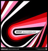 Abstract red geometric background vector — Vecteur